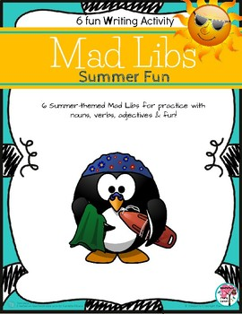 Mad Libs for Kids Summer Fun