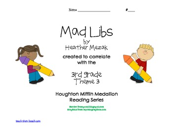 Mad Mad Libs