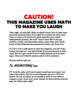 Mad Math Magazine