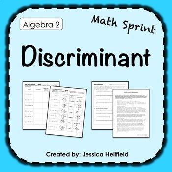 Mad Math Minute: Discriminant