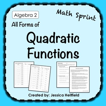 Mad Math Minute: Finding the Vertex of Quadratic Functions