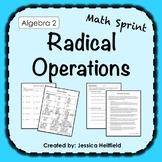 Radicals Activity: Math Sprints
