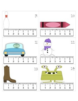 Mad Measurement-Reading a Ruler (inches)
