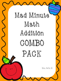 Mad Minute Addition Combo Pack