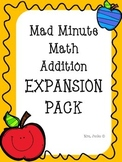 Mad Minute Addition Expansion Pack