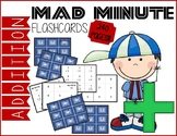 Mad Minute Addition Flashcards