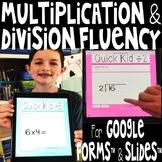Mad Minute Digital Multiply & Divide Fluency Bundle for Go