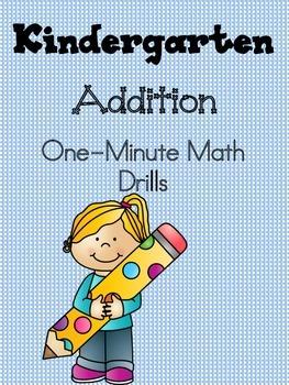 Mad Minute Math Addition: One-Minute Math Drills