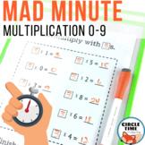 Mad Minute Multiplication