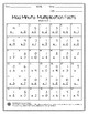 Mad Minute Multiplication Facts Worksheet 0-10 Pack