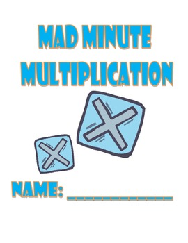 Mad Minute Multiplication Fluency