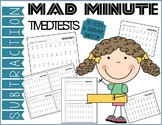 Mad Minute Subtraction Timed Tests