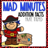 Mad Minutes Addition Pirate Themed