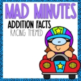 Mad Minutes Addition Racing Themed