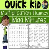 Mad Minutes Multiplication Fluency