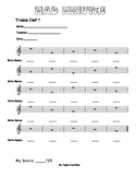Mad Minutes: Treble Clef with Ledger Lines