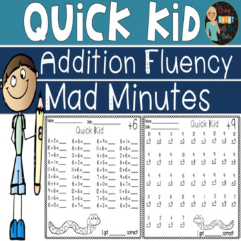 Mad Minute Addition Teaching Resources | Teachers Pay Teachers