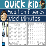 Mad Minutes Addition Fluency