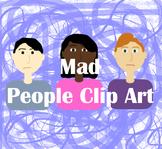 Mad People Clip Art