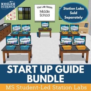 Kesler Science Station Labs - Start-Up Guide