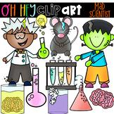 Mad Scientist Clip Art (Oh Hey ELA Art)