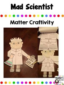 Mad Scientist Craftivity - Matter