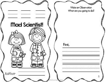 Emergent Readers~ Mad Scientist