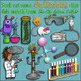 Mad Scientist Freebies, by TpT Clip Artists' Collab