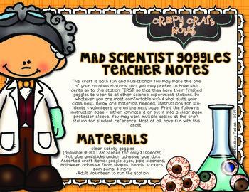 Mad Scientist Matter Experiments