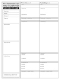 Mad Scientist Lesson Plans for Upper Elementary & Middle
