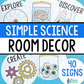 Science Classroom Decorations and Posters