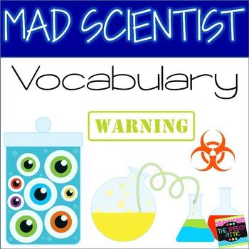 Mad Scientist Vocabulary