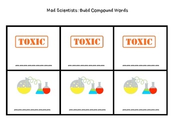 Mad Scientists: Compound Words