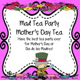 Mad Tea Party Mother's Day Tea Planning Kit