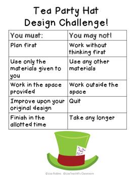 Mad Tea Party STEM Challenge