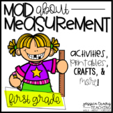 Mad about MEASUREMENT!  (Fun Activities for Non-Standard Measurement)