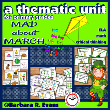MARCH THEMATIC UNIT March Activities Math Literacy Critical Thinking