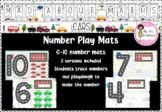 Mad about Maths - Number Play Mats (cars)