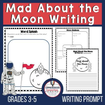 Mad about the Moon Writing Prompt