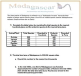 Madagascar: A Rounding and Estimation Activity