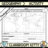 Madagascar Fact File Worksheet