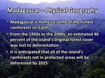 Madagascar Geography, History, Government, Economy, and Culture Presentation