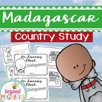 Madagascar Country Study | 48 Pages for Differentiated Learning + Bonus Pages