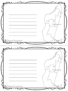 Madagascar Booklet Country Study Project Unit