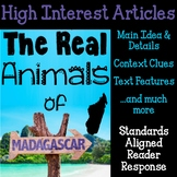 High Interest Articles -Madagascar Informational Texts