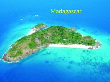 Madagascar Island - Power Point history facts info animals