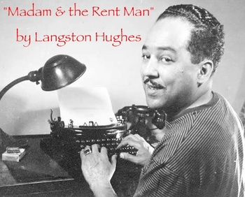 """Madam and the Rent Man"" poem by Langston Hughes & questions"