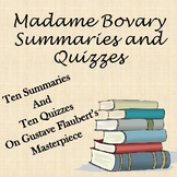 Madame Bovary Summaries and Quizzes