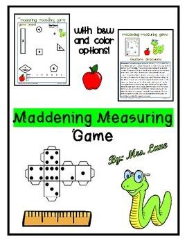 Maddening Measuring Game