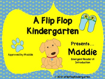 Maddie Emergent Reader